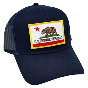 California Republic State Flag Patch Cap by OTTO